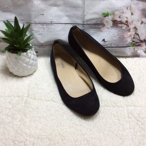 Torrid Black Round Toe Flats Size 9